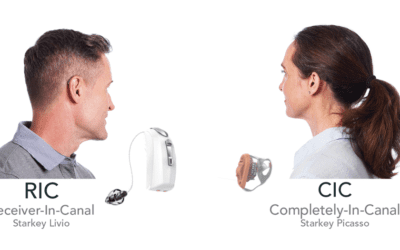 "Dr. Craig, what are the differences between the ""invisible"" and behind the ear hearing aids?"